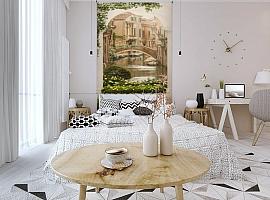 3D Фотообои «Венецианский дворик 1» вид 3