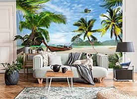 3D Фотообои «Карибский берег» вид 6