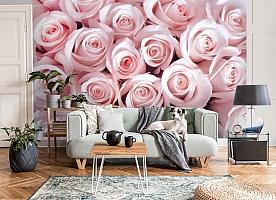 3D Фотообои «Благоухающий букет нежных роз» вид 8