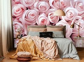 3D Фотообои «Благоухающий букет нежных роз» вид 6