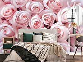 3D Фотообои «Благоухающий букет нежных роз» вид 4