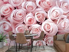 3D Фотообои «Благоухающий букет нежных роз» вид 2