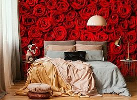 3D Фотообои «Миллион алых роз» вид 6