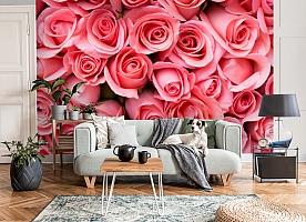 3D Фотообои «Обилие роз» вид 8