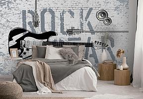 3D Фотообои «ROCK STAR» вид 2