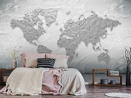 3D Фотообои «Карта лофт» вид 6