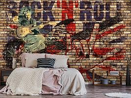 3D Фотообои «Rock N Roll» вид 6
