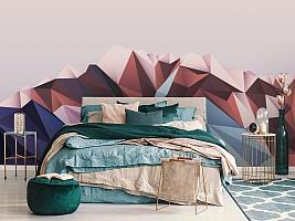 3D Фотообои «Полигональная гора» вид 6