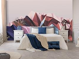 3D Фотообои «Полигональная гора» вид 5