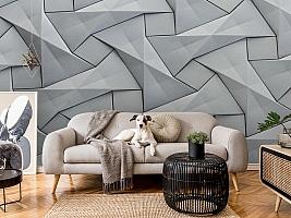 3D Фотообои «Мозаика из квадратов» вид 7
