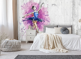 3D Фотообои «Балерина» вид 8