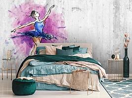 3D Фотообои «Балерина» вид 7