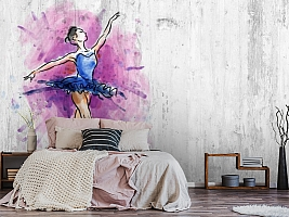 3D Фотообои «Балерина» вид 6