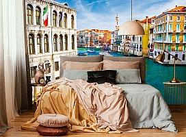 "3D Фотообои  ""Венеция: канал Ла-Джудекка""  вид 4"