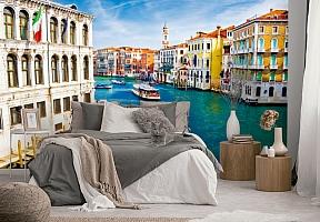 "3D Фотообои  ""Венеция: канал Ла-Джудекка""  вид 2"
