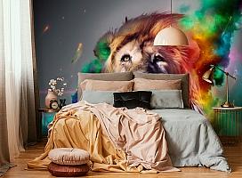 3D Фотообои «Царь зверей» вид 4