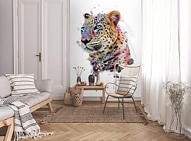 3D Фотообои «Красочный леопард» вид 9