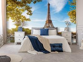 3D Фотообои «Лето в Париже» вид 8