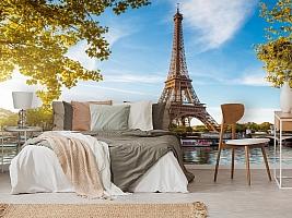 3D Фотообои «Лето в Париже» вид 6