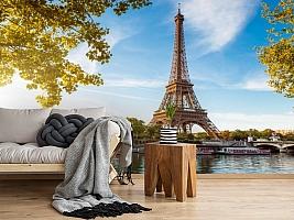 3D Фотообои «Лето в Париже» вид 5
