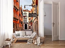 3D Фотообои «Венецианская улочка» вид 8