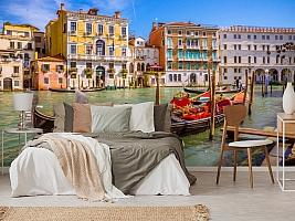 3D Фотообои «Яркий полдень в Венеции» вид 6