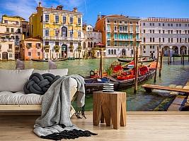 3D Фотообои «Яркий полдень в Венеции» вид 5