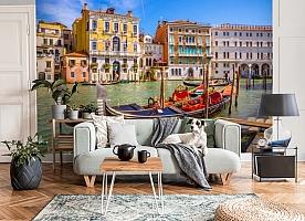 3D Фотообои «Яркий полдень в Венеции» вид 3