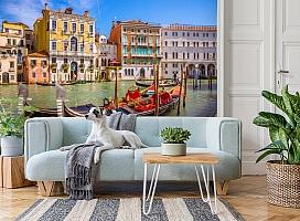 3D Фотообои «Яркий полдень в Венеции» вид 2