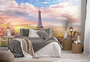 3D Фотообои «Весенний Париж» вид 2