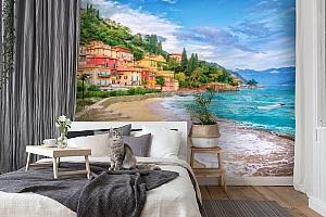 3D Фотообои «Прилив на итальянском побережье» вид 7