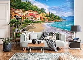 3D Фотообои «Прилив на итальянском побережье» вид 6