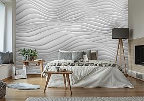 3D Фотообои «Объемные волны» вид 7
