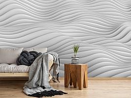 3D Фотообои «Объемные волны» вид 2