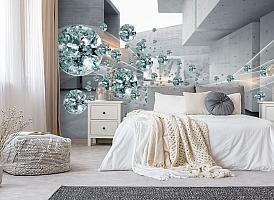 3D Фотообои «Поток драгоценных камней» вид 6