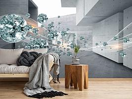 3D Фотообои «Поток драгоценных камней» вид 2