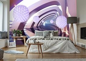 3D Фотообои «Солнечный тоннель»