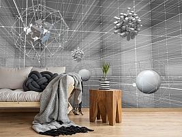 3D Фотообои «Физическая абстракция» вид 2