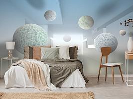 3D Фотообои «Сферическая абстракция» вид 3