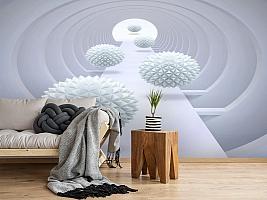 3D Фотообои «Абстрактный тоннель» вид 2