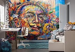 3D Фотообои «Стрит Арт Сальвадор Дали» вид 4