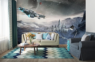 3D Фотообои  «Космический корабль»  вид 6