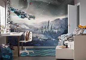 3D Фотообои  «Космический корабль»  вид 4