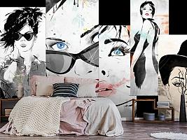3D Фотообои «Модное панно» вид 6