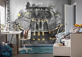 3D Фотообои «Мощная спортивная машина» вид 4