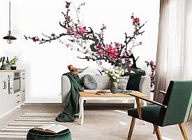 3D Фотообои  «Японские мотивы: Сакура»
