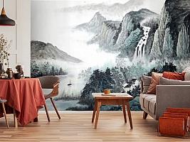 3D Фотообои  «Японские мотивы: Горы»  вид 4
