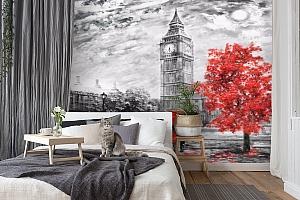 3D Фотообои «Лондон Башня Елизаветы» вид 7