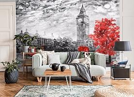 3D Фотообои «Лондон Башня Елизаветы» вид 6