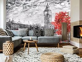 3D Фотообои «Лондон Башня Елизаветы» вид 5